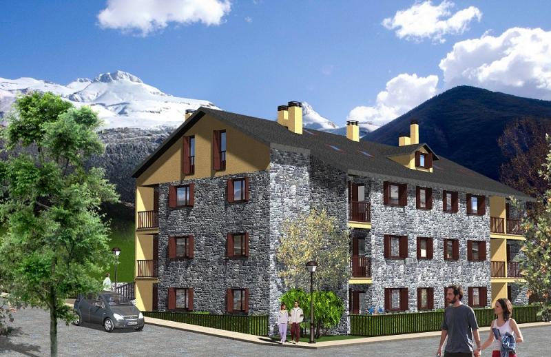 Inmobiliaria-Casmar-Apartamentos-Pirineo-Apartamentos-Villanua-Edificio-Sayerri