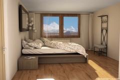 Inmobiliaria-Casmar-Apartamentos-Pirineo-Apartamentos-Villanúa-Dormitorio