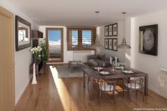 Inmobiliaria-Casmar-Apartamentos-Pirineo-Apartamentos-Villanúa-Salón