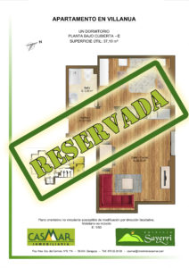 Inmobiliaria Casmar - Apartamentos Pirineo - Apartamentos Villanua - Planta Bajo Cubierta - C - Vivienda Reservada