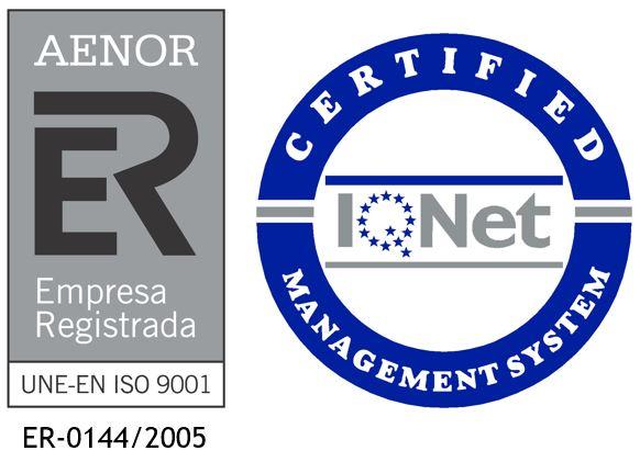 Inmobiliaria Casmar - Sello de Calidad Aenor ER-0144-2005