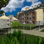 Urbanización - El Solano -Villanua Huesca - Infografía 1