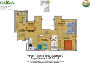 Residencial - Abay -Villanúa Pirineo Huesca - imagen Ático