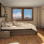 Inmobiliaria Casmar - Apartamentos Pirineo - Apartamentos Villanúa - Dormitorio