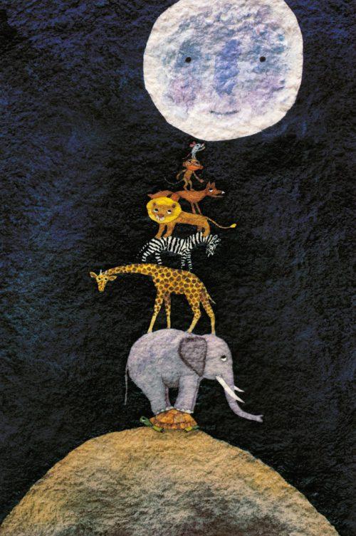 Cuentacuentos en la biblioteca de Villanúa - A que sabe la luna