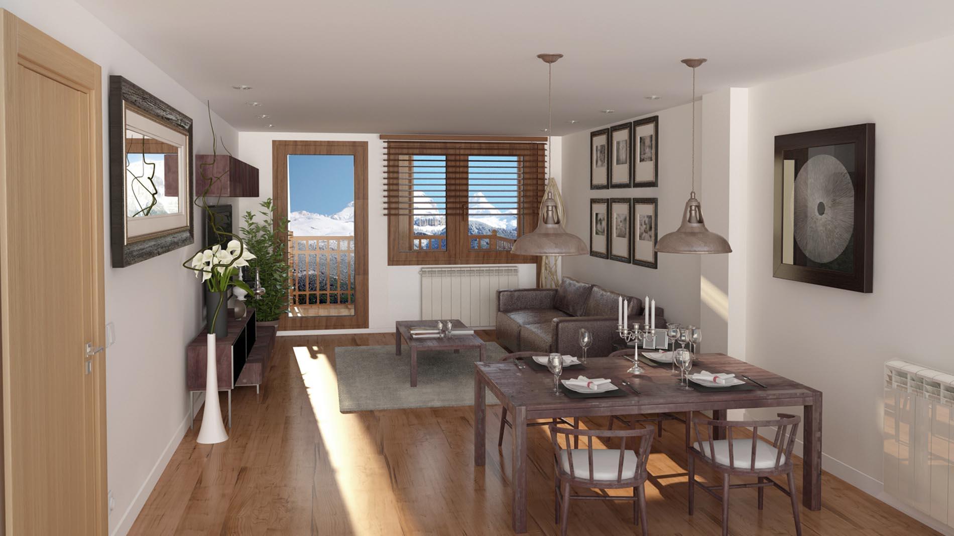 Slide - Venta de Apartamentos en el Pirineo - Interiores