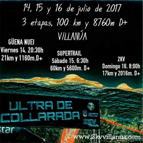 Ultra de Collarada 2017 - Carrera en Villanúa