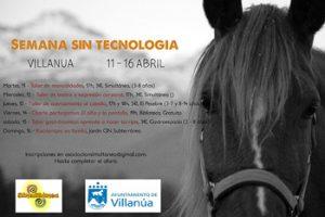 Semana sin tecnología en Villanúa