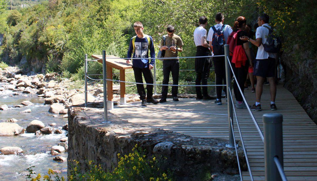 Inmobiliaria Casmar - Pisos en Pirineo Aragonés - Paseos por el río Aragon - 2017