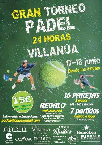 Inmobiliaria Casmar - Torneo pádel 24 horas - 2017