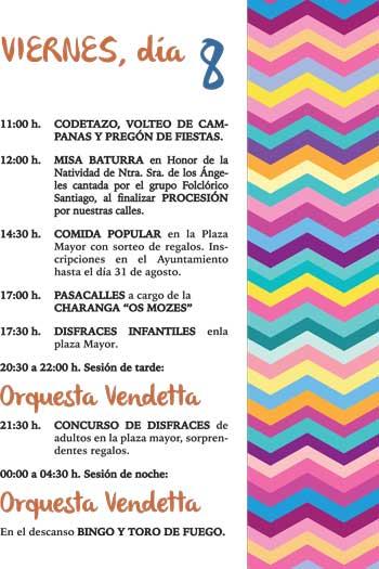 Inmobiliaria Casmar - Apartamentos Pirineo Aragonés - Fiestas patronales en Villanúa - Viernes - 2017