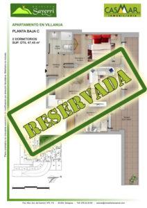 Inmobiliaria Casmar - Pisos Pirineo - Pisos Villanua - PLANTA BAJA - C - Reservada
