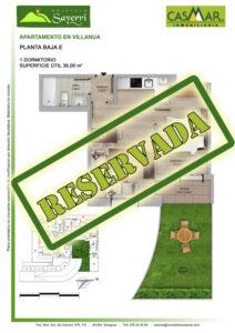Inmobiliaria Casmar - Pisos Pirineo - Pisos Villanua - PLANTA BAJA - E - Reservada