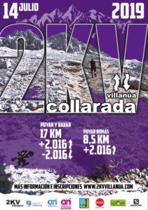 Carrera Ultra Collarada 2019 cartel - Inmobiliaria Casmar - Pisos, apartamentos en Pirineo