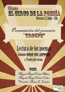 El circo de la poesía 2019 - Inmobiliaria Casmar - Pisos, apartamentos en Pirineo