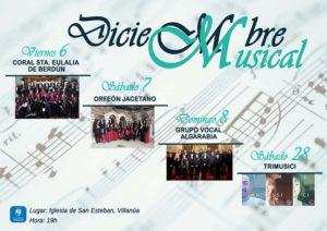 III Diciembre Musical en Villanúa - Inmobiliaria Casmar - Pisos, apartamentos en Pirineo
